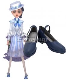 Identity V Coordinator Martha Behamfil Iron Lady Halloween Blue Cosplay Shoes