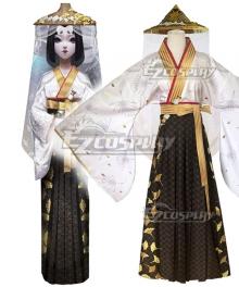 Identity V Geisha Michiko Rashomon Halloween Cosplay Costume