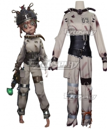 Identity V Mechanic Tracy Reznik Cunning Smile Disease Halloween Cosplay Costume