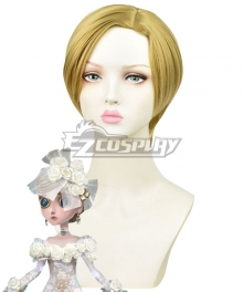 Identity V Perfumer Vera Nair Tonight Or Never Halloween Golden Cosplay Wig