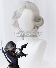 Identity V Photographer Joseph Desaulniers Halloween Grey Cosplay Wig