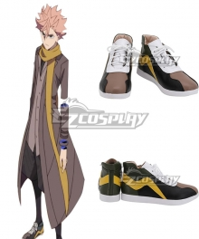 ID:INVADED Sakaido Green Black Cosplay Shoes