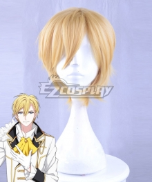 Idolish 7 Nagi Rokuya Golden Cosplay Wig