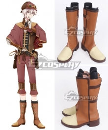 Idolish 7 Tenn Kujo Trigger Brown Shoes Cosplay Boots