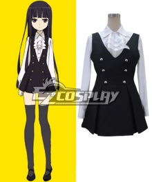 Inu x Boku SS Ririchiyo Shirakiin Uniform Cosplay Costume - A Edition