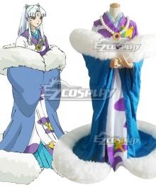 Inuyasha Sesshomaru's mother Inu no Kami Cosplay Costume