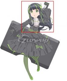 Itai no wa Iya nano de Bōgyoryoku ni Kyokufuri Shitai to Omoimasu BOFURI: I Don't Want to Get Hurt, so I'll Max Out My Defense MAY Black Green Cosplay Wig