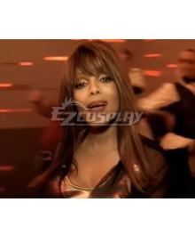 Jackson 5 Janet Brown Cosplay Wig