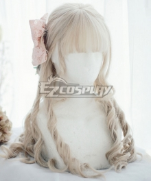Japan Harajuku Lolita Series DREAMHOLIC Artemis' Dream White Cosplay Wig