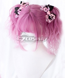 Japan Harajuku Lolita Series DREAMHOLIC Light Sleeping Finch Pink Cosplay Wig