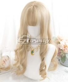 Japan Harajuku Lolita Series Golden Cosplay Wig