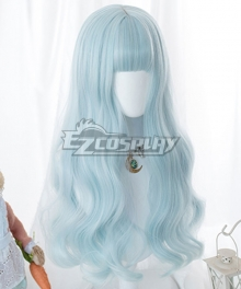 Japan Harajuku Lolita Series Gradient Blue Purple Cosplay Wig