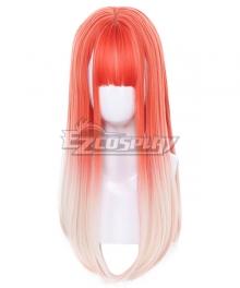 Japan Harajuku Lolita Series Peach Orange Cosplay Wig