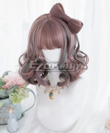Japan Harajuku Lolita Series Strawberry Paradise Pink Cosplay Wig