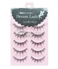 Japanese Natural False Eyelashes Five Pairs Cosplay Accessory Prop