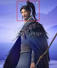 Jiang Ziya Jiang Ziya Black Coslay Wig