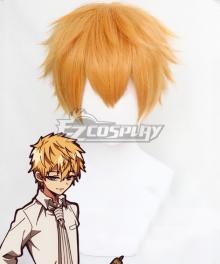 Jibaku Shounen Hanako-Kun Minamoto Teru Golden Cosplay Wig
