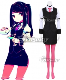 VA-11 Hall-A: Cyberpunk Bartender Action Jill Julianne Stingray Cosplay Costume
