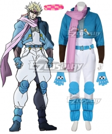 JoJo's Bizarre Adventure: Battle Tendency Caesar Anthonio Zeppeli Cosplay Costume