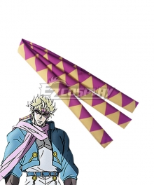 Jojo'S Bizarre Adventure: Battle Tendency Caesar Anthonio Zeppeli Headband Cosplay Accessory Prop