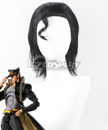 JoJo's Bizarre Adventure: Diamond Is Unbreakable Kujo Jotaro Black Cosplay Wig