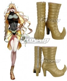Jojo'S Bizarre Adventure:Stardust Crusaders Dio Brando Gender Transfer Golden Girl Cosplay Boots