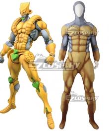 Jojo's Bizarre Adventure Brando Dio THE WORLD Muscle Suit Cosplay Costume