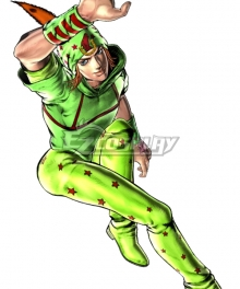JoJo's Bizarre Adventure: Eyes of Heaven Johnny Joestar Cosplay Costume