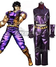 JoJo's Bizarre Adventure: Phantom Blood Jonathan Joestar Purple Cosplay Costume