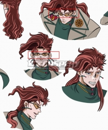 JoJo's Bizarre Adventure Kakyoin Noriaki Glasses Cosplay Accessory Prop