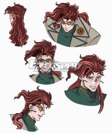 JoJo's Bizarre Adventure Kakyoin Noriaki Red Cosplay Wig