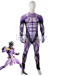 JoJo's Bizarre Adventure Jotaro Kujo Star Platinum Muscle Suit Cosplay Costume