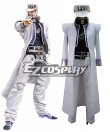 JoJo's Bizarre Adventure: Diamond Is Unbreakable Kujo Jotaro Cosplay Costume
