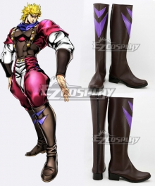 JoJo's Bizarre Adventure: Phantom Blood Dio Brando Brown Shoes Cosplay Boots