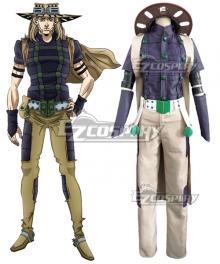 JoJo's Bizarre Adventure: Steel Ball Run Gyro Zeppeli  Cosplay Costume - B Edition