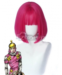 JoJo's Bizarre Adventure: Steel Ball Run Hot Pants Pink Cosplay Wig