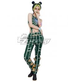 JoJo's Bizarre Adventure: Stone Ocean Jolyne Cujoh Anime Cosplay Costume