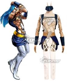 Jojo'S Bizarre Adventure: Stone Ocean Narciso Anasui Male Cosplay Costume