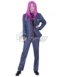 JoJo's Bizarre Adventure: Vento Aureo Golden Wind Diavolo Suit Cosplay Costume