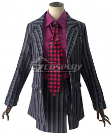 JoJo's Bizarre Adventure: Vento Aureo Golden Wind Female Diavolo Cosplay Costume