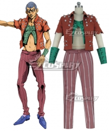 JoJo's Bizarre Adventure: Vento Aureo Golden Wind Formaggi Cosplay Costume