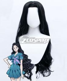 JoJo's Bizarre Adventure Yukako Yamagishi Black Cosplay Wig