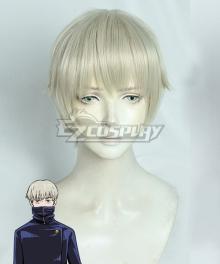 Jujutsu Kaisen Sorcery Fight Toge Inumaki Grey White Cosplay Wig