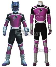 Juken Sentai Gekiranger Gou Fukami Geki Violet Cosplay Costume