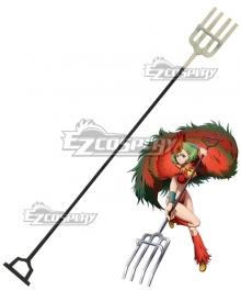 Juuni Taisen Zodiac War Ryoka Niwa Chicken Niwatori Rake Cosplay Weapon Prop
