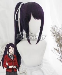 Kakegurui Compulsive Gambler Sayaka Igarashi Purple Cosplay Wig