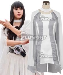 Kamen Rider Zi-O Tsukuyomi Grey Cosplay Costume
