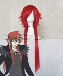 Kamisama Love Kamisama Hajimemashita Akura Ou Red Cosplay Wig