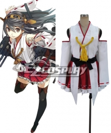 Kantai Collection Haruna Cosplay Costume