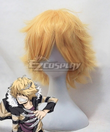 Katekyo Hitman Reborn! Belphegor Golden Cosplay Wig